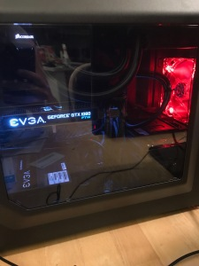 The completed build of our computer.